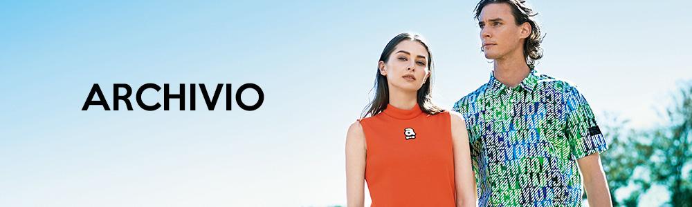 ゴルフウェアブランド・archivio(アルチビオ)公式通販のレディースとメンズの商品一覧ページです。