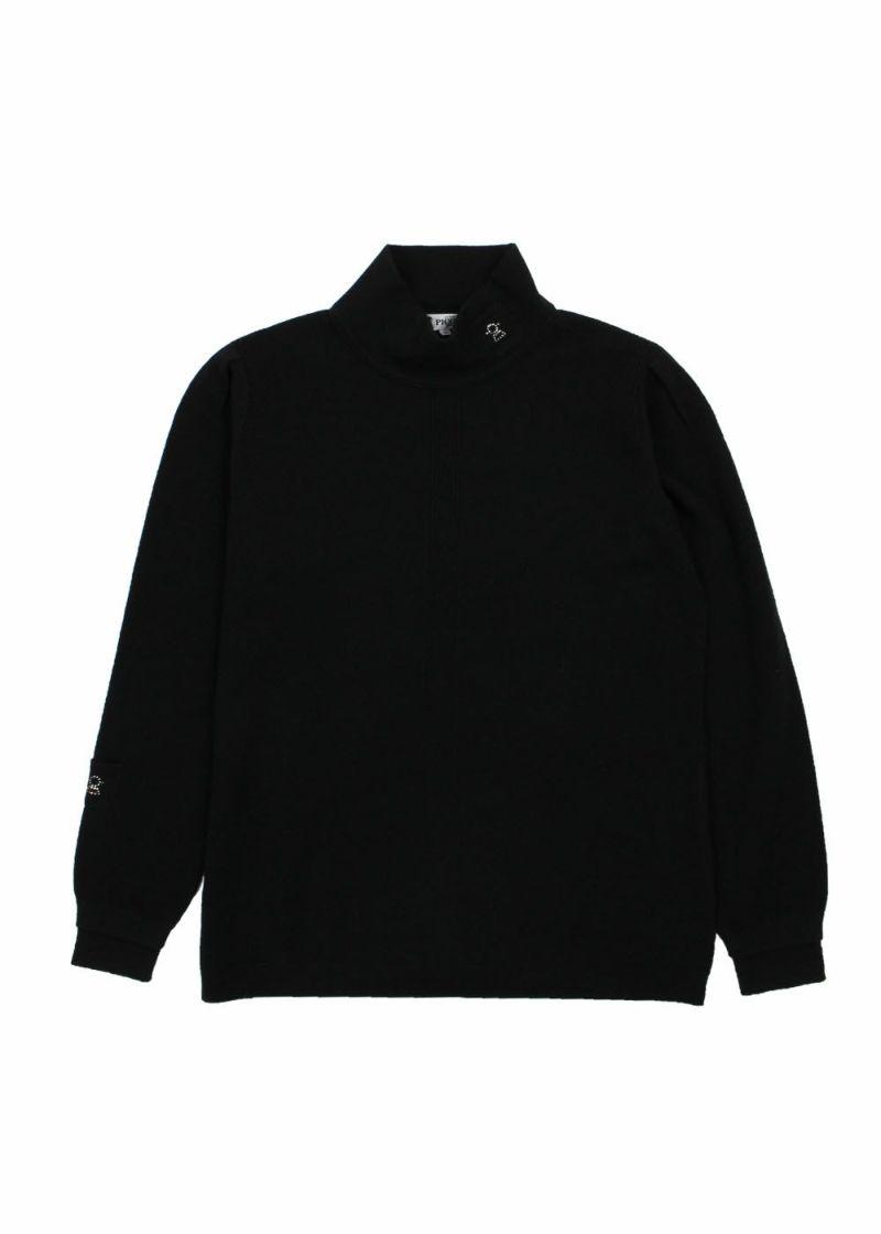 STUDIO PICONE-スタジオピッコーネ-P018026 カシミヤ100%ハイネックニット