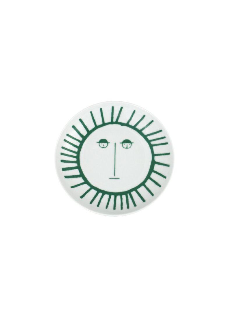 CASA PICONE-カーサピッコーネ-S010101【波佐見焼】 小皿(15㎝)太陽