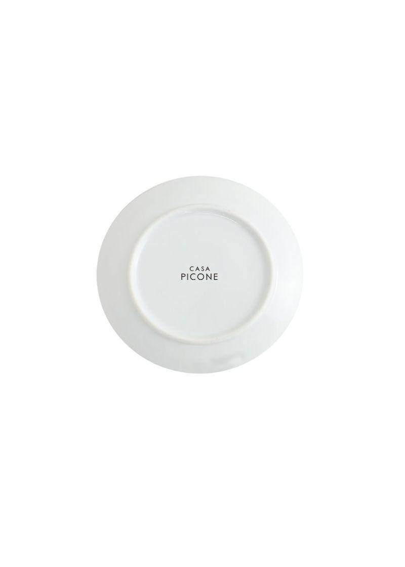 CASA PICONE-カーサピッコーネ-S010102【波佐見焼】 小皿(15㎝)アルチビオシルエット