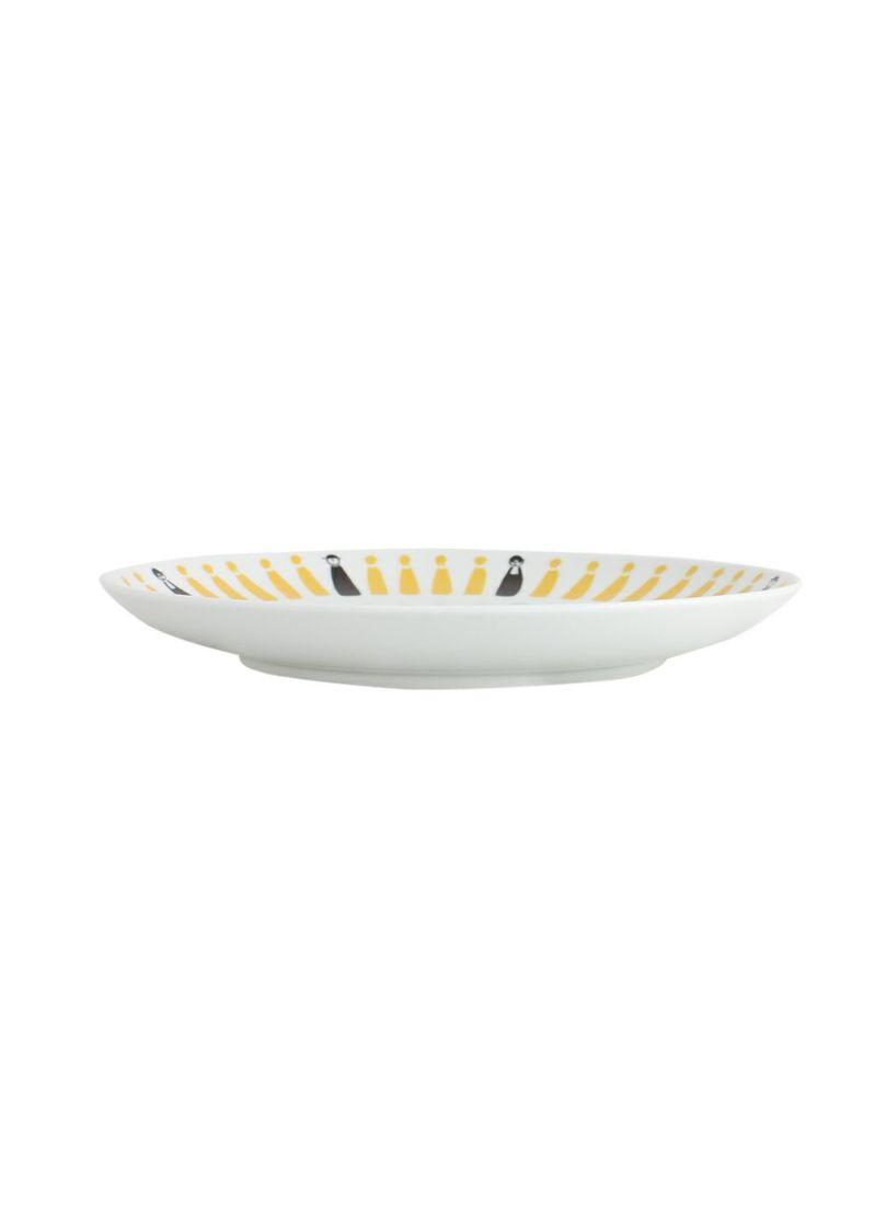 CASA PICONE-カーサピッコーネ-S010106【波佐見焼】 大皿(24cm)アルチビオシルエット