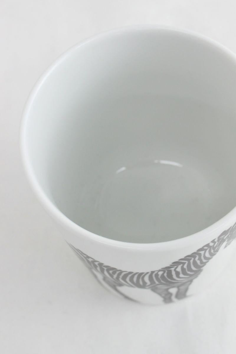 CASA PICONE-カーサピッコーネ-S010109【波佐見焼】 マグカップ シマウマ