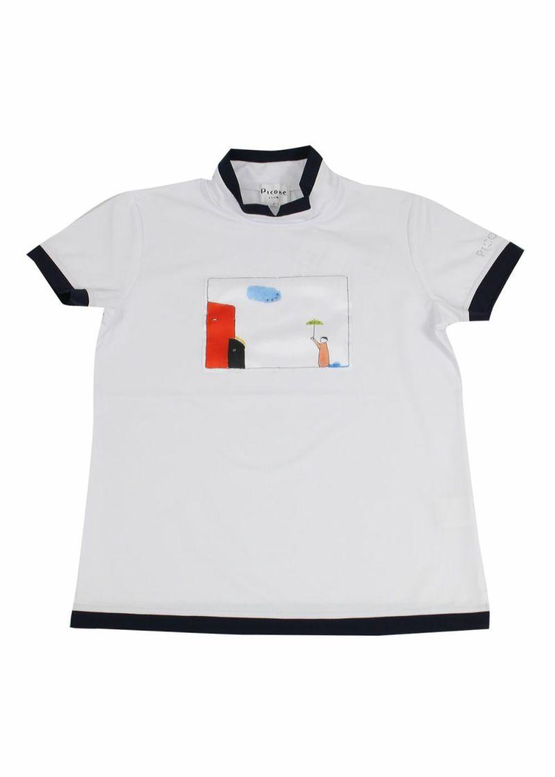 piconeclub-ピッコーネクラブ-C059307 ハイネックTシャツ