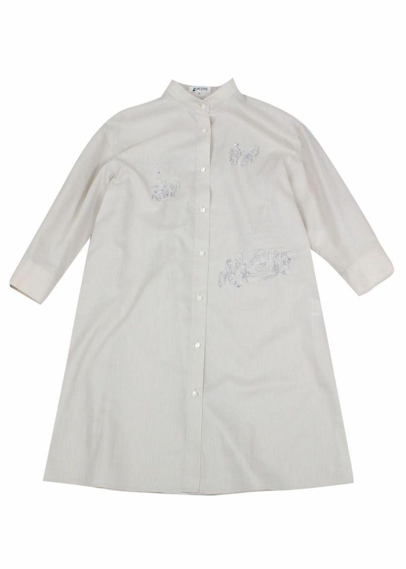 studiopicone-スタジオピッコーネ- P055316 ロングシャツ