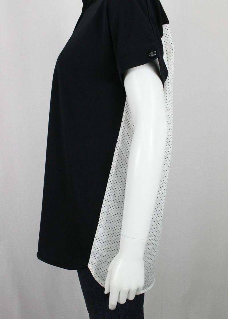 studiopicone-スタジオピッコーネ- P059431 前後切り替えシャツ