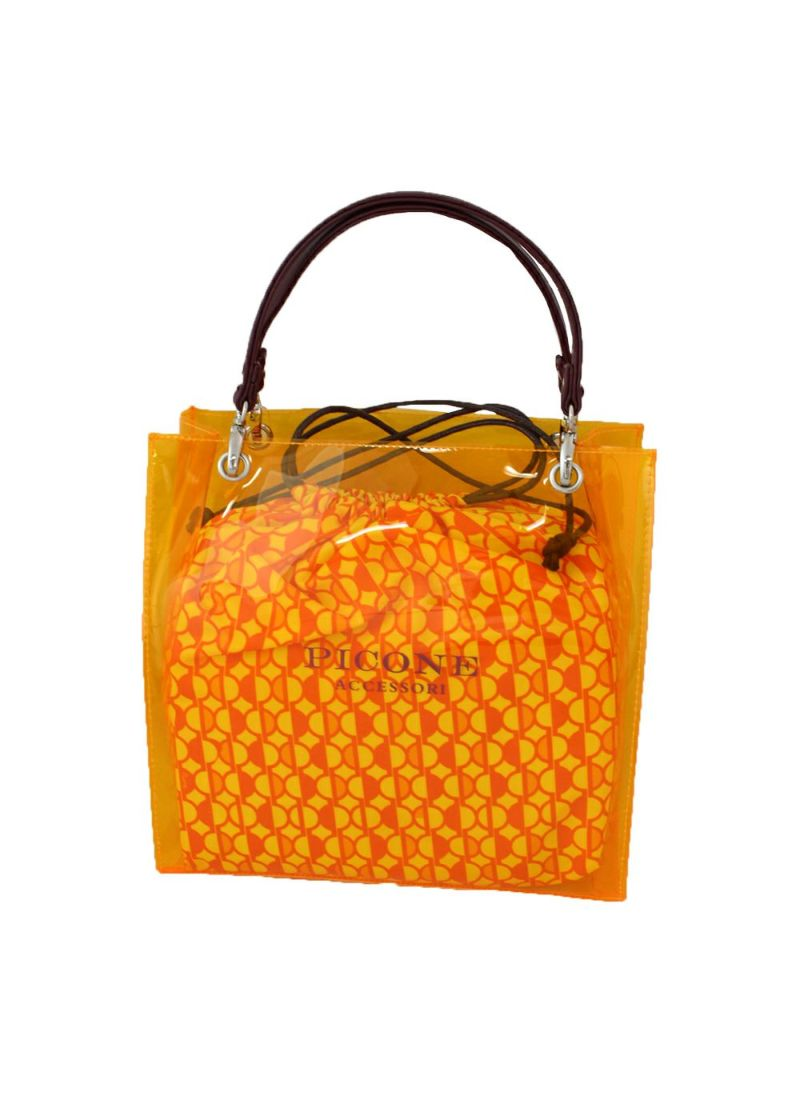 studiopicone-スタジオピッコーネ- P050502 巾着付きクリアバッグ